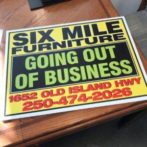 Coroplast Sign Printing – Rolex Printing